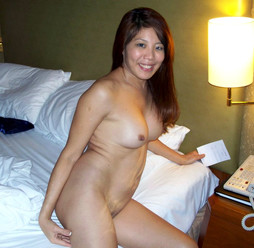 Sexy homemade photos with naked asian..