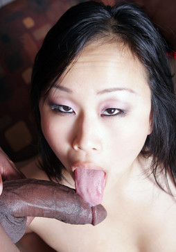 Horny chinese ex-wife takes big black..